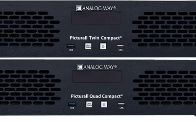 Analog Way: New Picturall™ Compact Media Servers at Prolight + Sound 2019